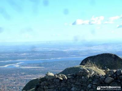 Machotas,Pico El Fraile, Tres Ermitaños; mochila montaña hayedo irati parque de la pedriza